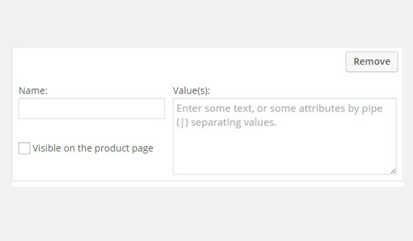 Add a custom product attribute
