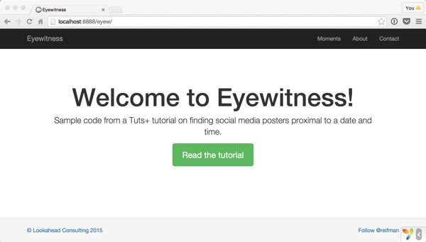 Eyewitness Home Page