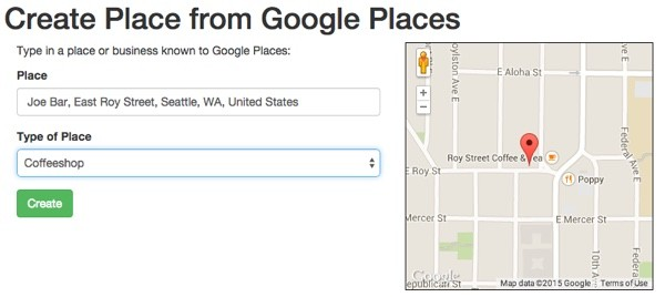 Meeting Planner Add From Google Place Autocomplete After LoadMap