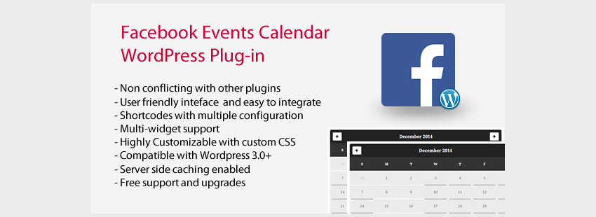 Facebook Events Calendar WordPress Plugin