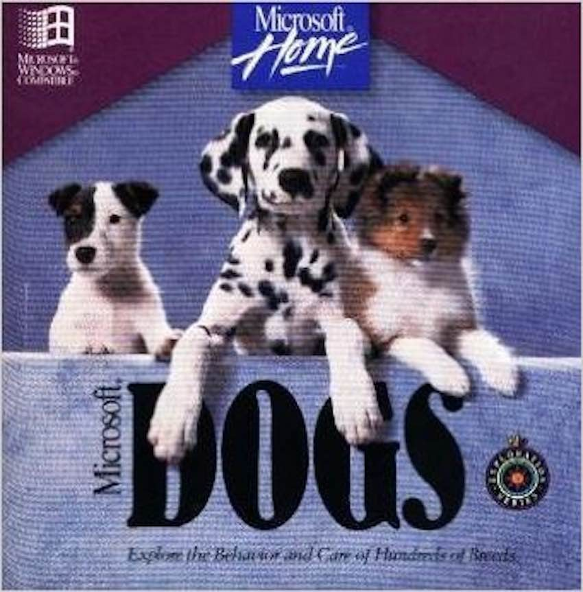 Microsoft Dogs CD-ROM
