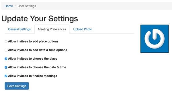 Meeting Planner Invitation - Updating Your Meeting Settings