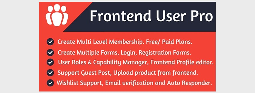 Frontend User Pro