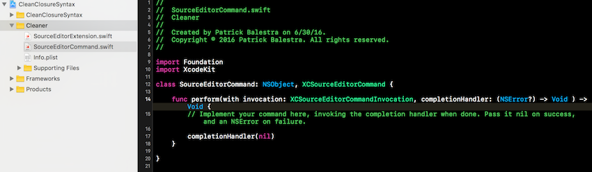 Xcode Project Contents and Layout