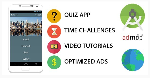 Quiz App Template for Android