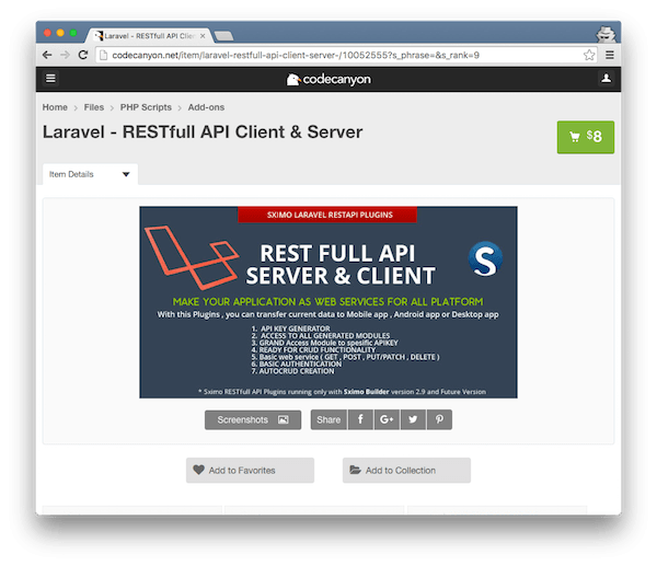 RESTfull API Client and Server